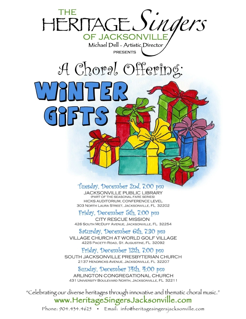 Winter Gifts: A Choral Offering