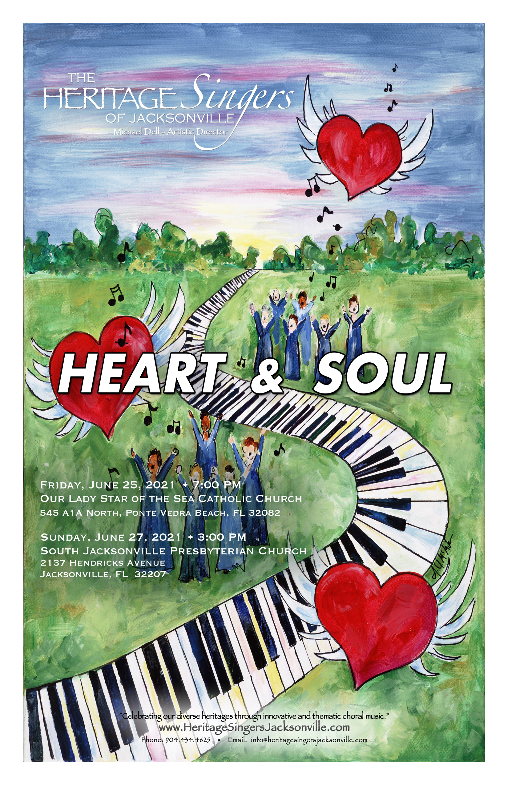 """The Heritage Singers of Jacksonville presents """"Heart & Soul""""!"""