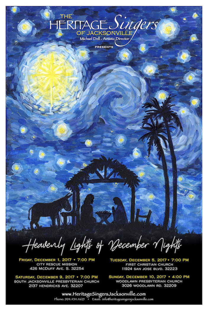 Heavenly Lights of December Nights
